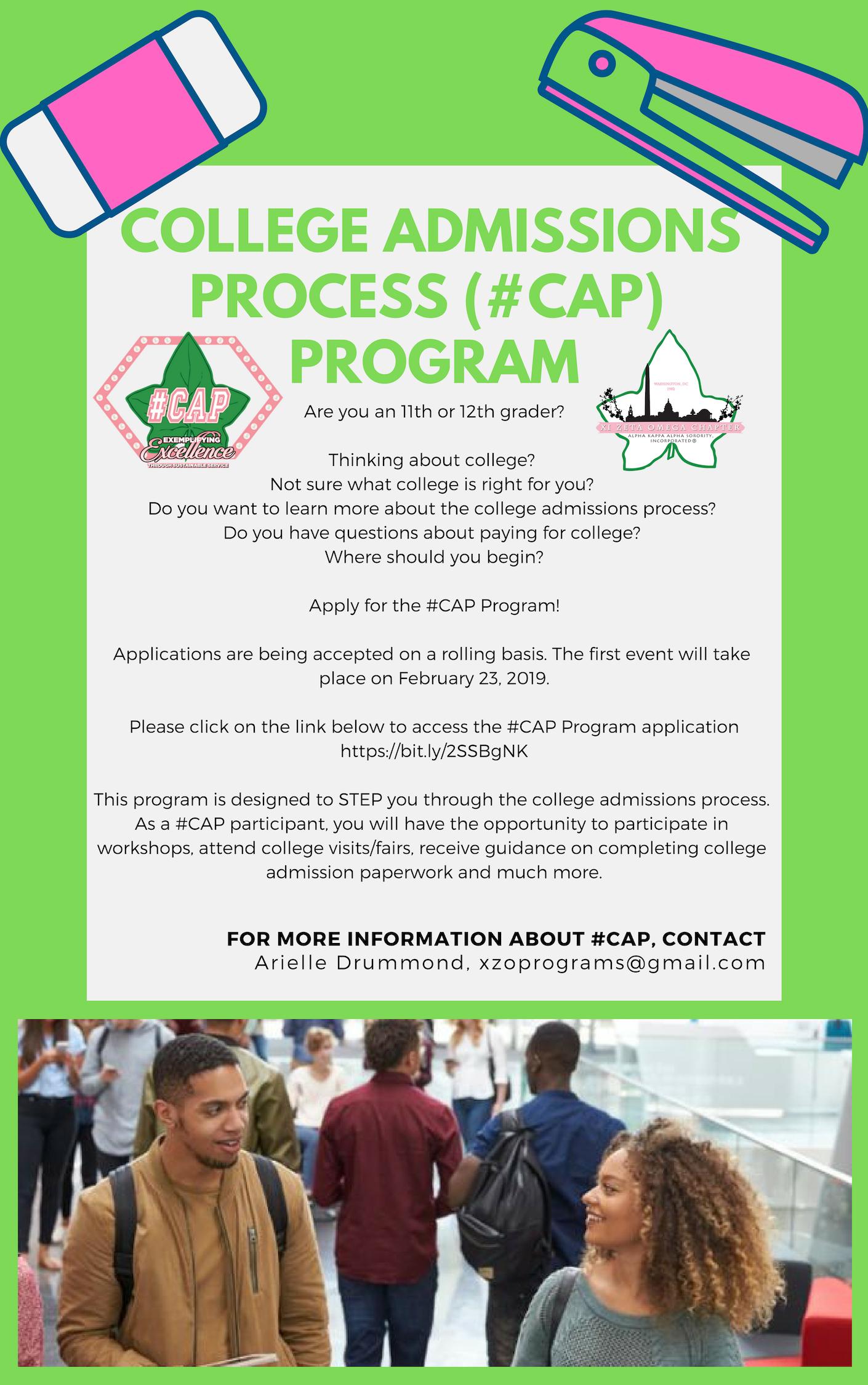#CAP Flyer